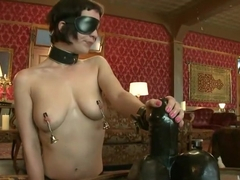 Slave torn is Stuffed and Whipped