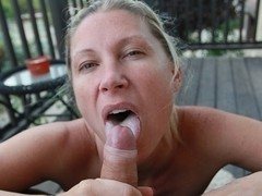 Devon Lee & Marcus London in Black and White BJ Video