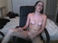 Awesome immature masturbates on a webcam