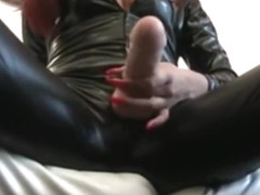 Amazing Homemade Shemale video with Dildos/Toys, Fetish scenes