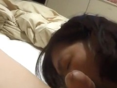 Horny Japanese milf  Kui Somya  blowjob and ass licking