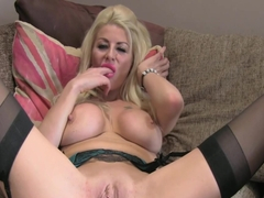 Big tits slut nailed on casting