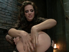 Incredible anal, fetish sex clip with fabulous pornstars Bobbi Starr, Mick Blue and Juliette March.