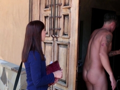 Aubrey Holiday in Bible Girl Gets Ass Fucked