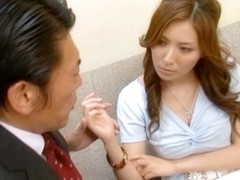 Yuna Shiina Lovely Asian teacher is a fine sex partner