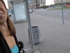 Public blowjob and anal with stranger