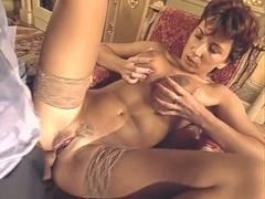 Amazing unshaven babes getting fucked hard