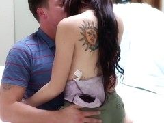 Setpsister Mandy Muse gets anal lesson