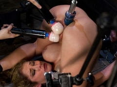 Horny fetish xxx clip with incredible pornstar from Fuckingmachines