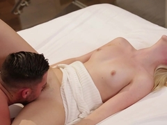 Hottest pornstars Seth Gamble, Samantha Rone in Incredible Small Tits, Blonde porn video