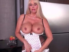 Fabulous pornstar Karen Fisher in Amazing Lingerie, Blonde porn movie