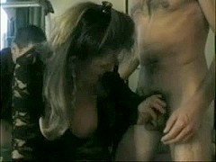 Older French Swinger Wife three