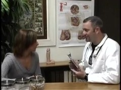 Young Lady Takes a Dildo in her Foxy Box at Doctors Office