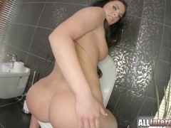 All Internal Athina first sex video interview with a creampie