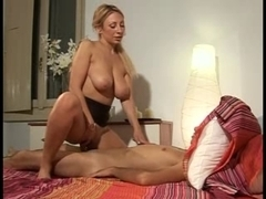 Blonde MILF gets the fucking of her life by a hot stud