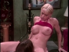 Melissa West acquires her butt rubbed and drilled