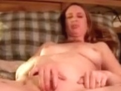 Wife and i playing would you like to finger her