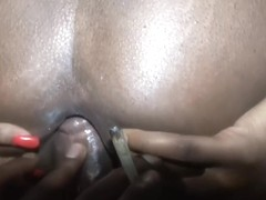 sale baise anale avec une pute dirty french ebnony anal fuck