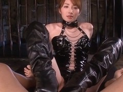 Hottest Japanese slut Miku Ohashi in Amazing JAV censored Small Tits, Blowjob scene