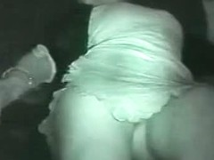 Wonderful ladies are dancing in the club with upskirt action
