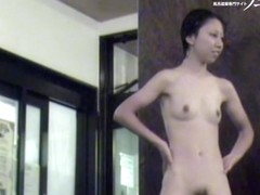 Gorgeous hairy pussy and wonderful small Japanese titties 3328