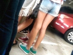 teen in shorts 15