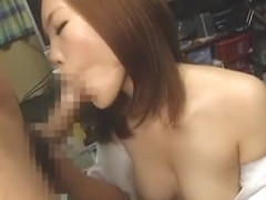 Horny Japanese slut in Fabulous Handjobs, Blowjob/Fera JAV movie