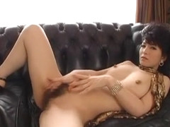 Hottest Japanese chick An Nanba in Incredible Cougar, Solo Girl JAV scene