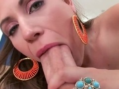 Precious brunette Rucca Page got huge boobs and pretty sexy shaped body and great naughty skills i.