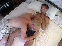 Butthole boning adventure in gay twinks porn