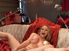 Best fetish, gaping adult clip with exotic pornstar Aiden Starr from Fuckingmachines