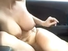 I masturbate in the car with a toy
