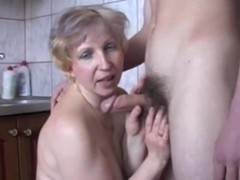 Sucking and fucking for a facial