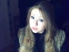 Russian Christian Blue-Eyed Darksome Blond Gal makes no doubt of in God