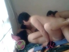 two korean couples homemade
