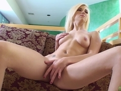 Horny pornstar Lacey Leveah in Exotic Solo Girl, Blonde adult video
