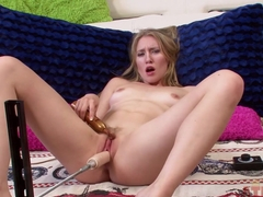Best pornstar Riley Reynolds in Amazing Blonde, Masturbation adult scene