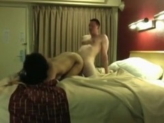 Fucking a cheap latin streetslut in a motel