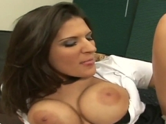 Sexy secretary Austin Kincaid is being nicely pounded