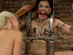 Exotic lesbian, fetish sex movie with incredible pornstar Lorelei Lee from Wiredpussy