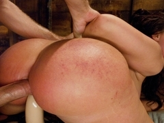 Amazing anal, fetish sex clip with crazy pornstars Bobbi Starr, James Deen and Kelly Divine from E.