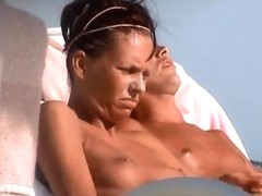 incredible french girl tunesia topless beach