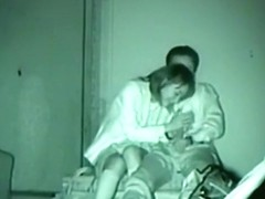 Asian partygirl fucks her one night stand on a bench outside