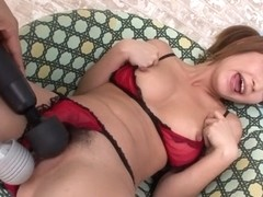 Fabulous Japanese whore Sana Anzyu in Incredible JAV uncensored Lingerie video