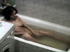 Bathtub Masturbation