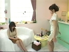 Sexy girl massage movie with kinky asian cunts