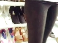 Hot chick camelroe buying boots