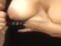 Lewd and delicate hottie takes penis in her face aperture and jerks it off