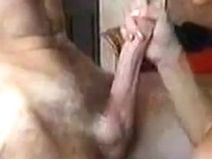 Wife orgasm and sucks off