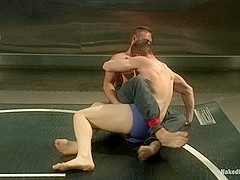 NakedKombat Will The Punisher Parks vs John Jizz on Your Face Jammen